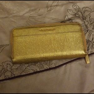Brand new gold Michael Kors Wallet